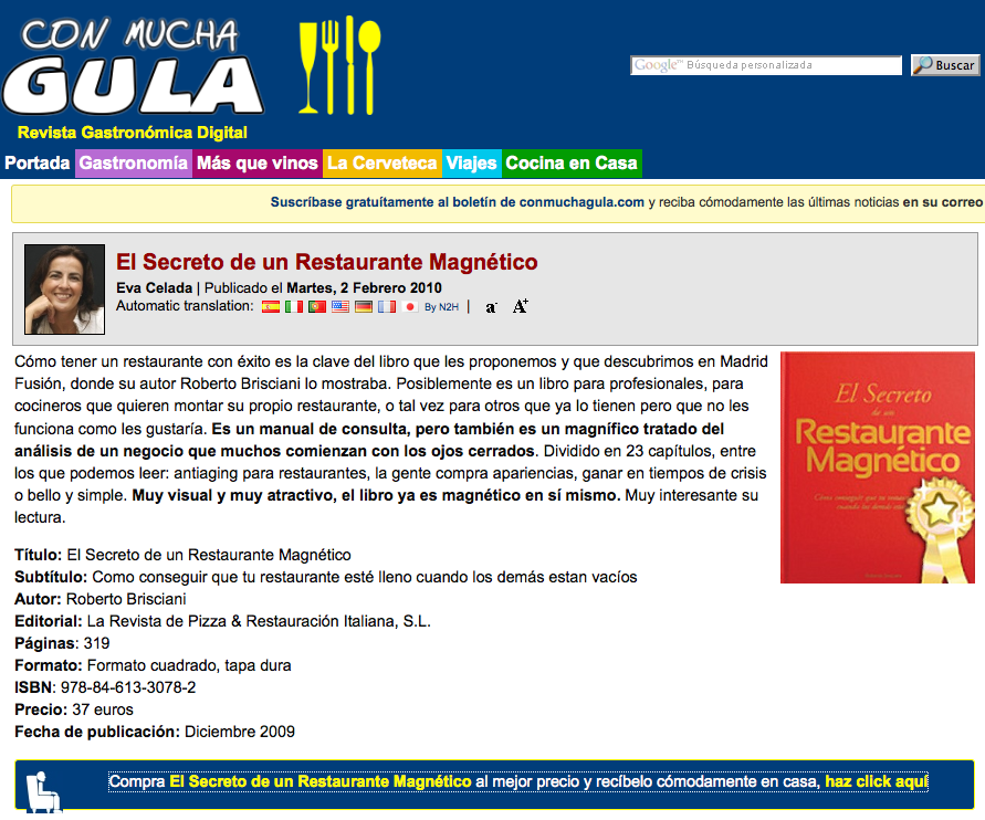 Con Mucha Gula Restaurante Magnetico